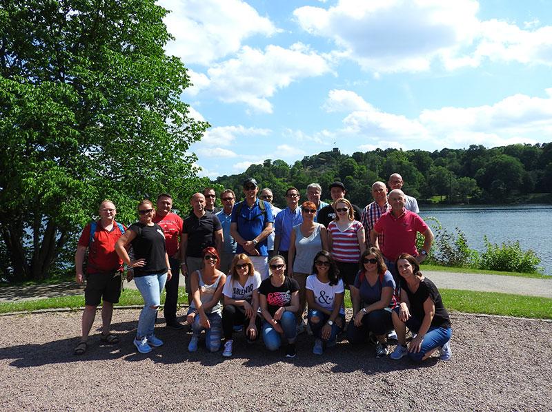 Firmenreise Stockholm 2016, Foto der Teilnehmer