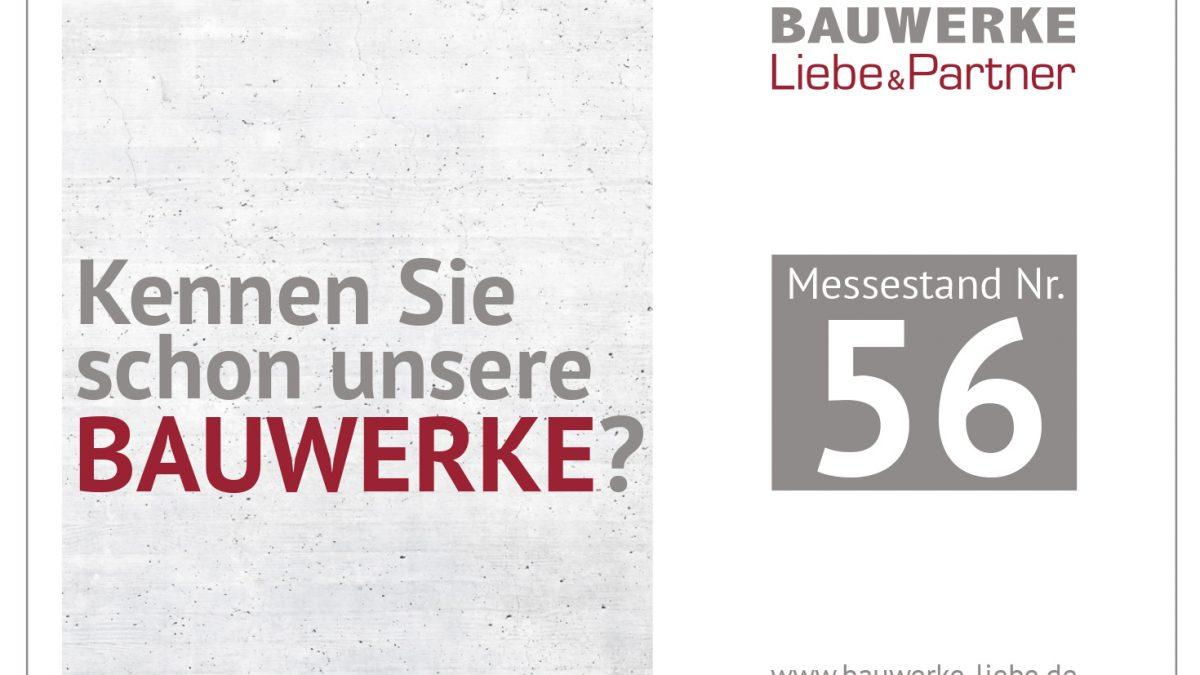 BAUWERKE – Liebe & Partner auf der Bau- und ImmobilienMesse Erlangen
