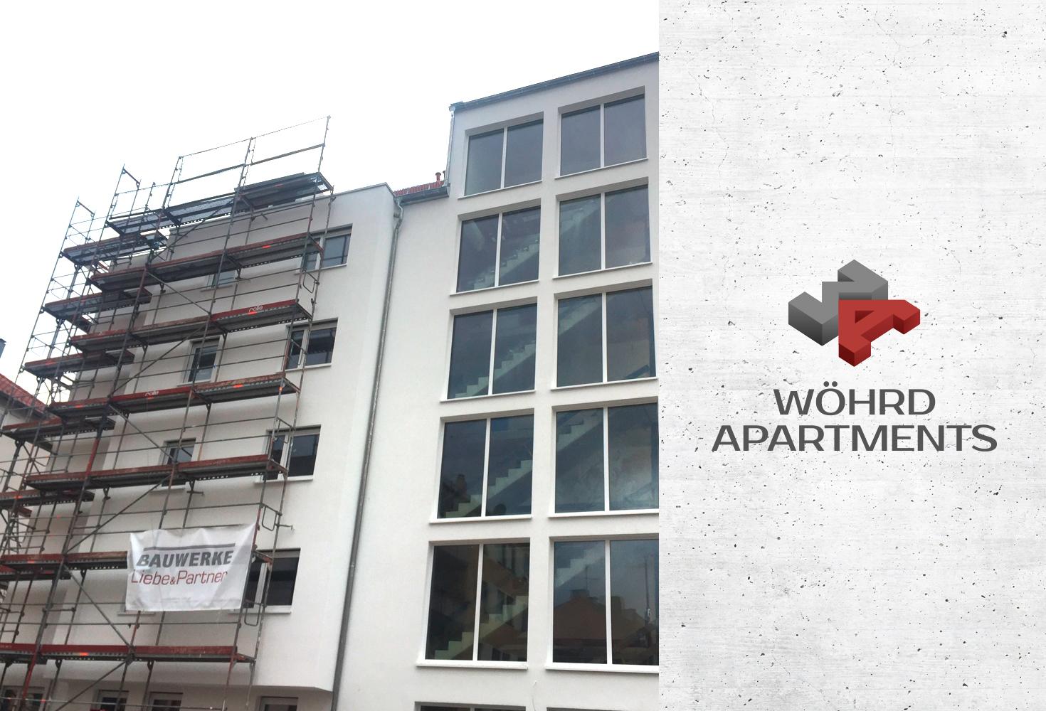 Wöhrd Apartments – Baufortschritt in Nürnberg |BAUWERKE –Liebe & Partner